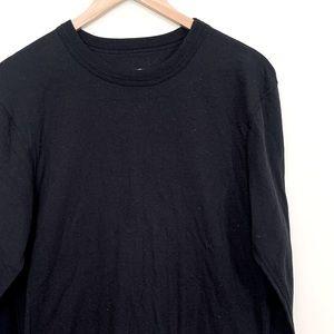 3/$20 Duofold by Champion Black Long Sleeve Shirt
